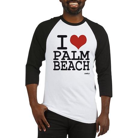 I love Palm Beach Baseball Jersey