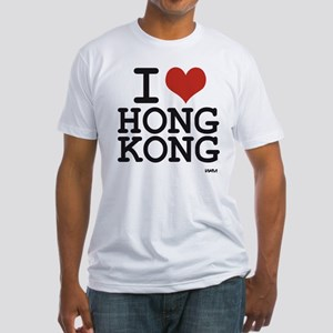 I love Hong Kong Fitted T-Shirt