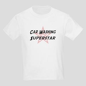Car Washing Superstar Kids T-Shirt
