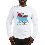 Husky Pawprints Long Sleeve T-Shirt