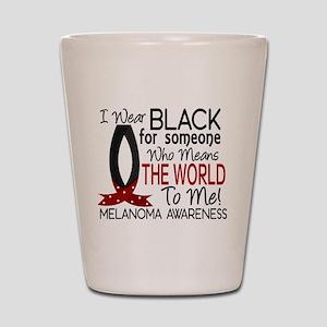 Means World To Me 1 Melanoma Shot Glass