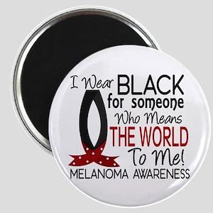 Means World To Me 1 Melanoma Magnet