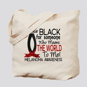 Means World To Me 1 Melanoma Tote Bag