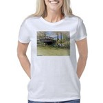 Canada Geese in the Park Women's Classic T-Shirt
