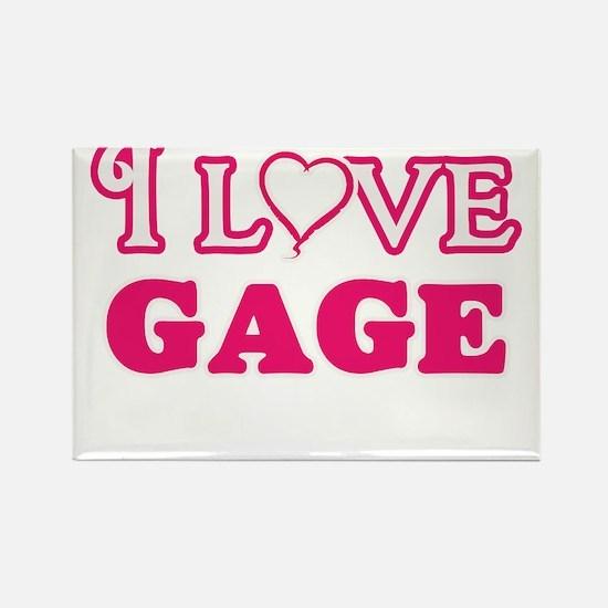 I Love Gage Magnets