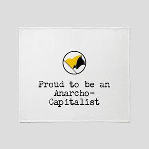 Proud Anarcho-Communist Throw Blanket