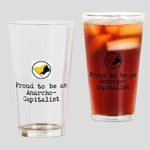 Proud Anarcho-Communist Drinking Glass