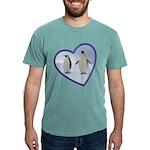 Emperor Penguins Mens Comfort Color T-Shirts