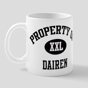 Property of Dairen Mug