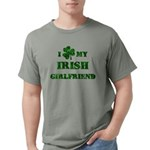 Irish Girlfriend Mens Comfort Colors Shirt
