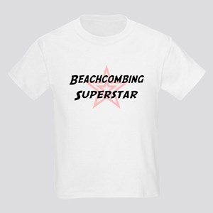 Beachcombing Superstar Kids T-Shirt