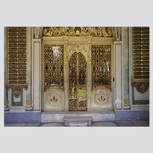 Facade of a conference room, Topkapi Palace, Istan