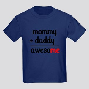 Mommy plus Daddy Kids Dark T-Shirt