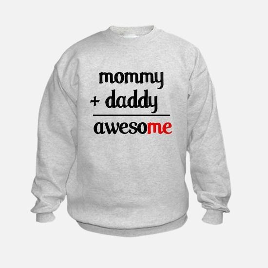 Mommy plus Daddy Sweatshirt