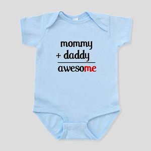 Mommy plus Daddy Infant Bodysuit