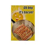 Bacon Rectangle Magnet