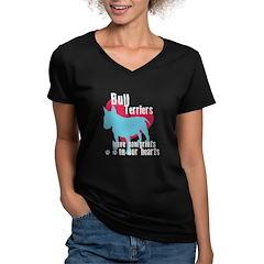 Bull Terrier Pawprints Shirt