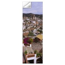 High angle view of a town, Taxco, Mexico Wall Decal