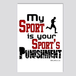 My Sport Postcards (Package of 8)