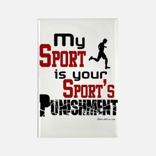 My Sport Rectangle Magnet