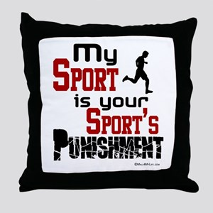 My Sport Throw Pillow