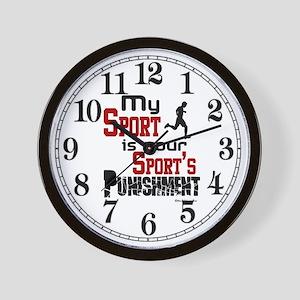 My Sport Wall Clock