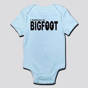 I believe in Bigfoot (1) Infant Bodysuit