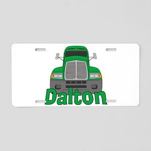 Trucker Dalton Aluminum License Plate
