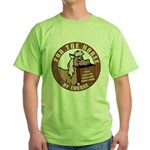 For The Horse of Course Green T-Shirt