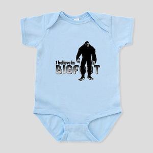 I believe in Bigfoot (2) Infant Bodysuit
