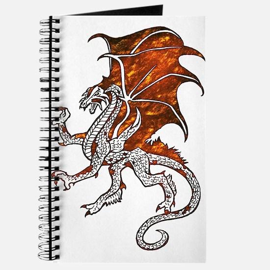 Rusty Metal Dragon Journal