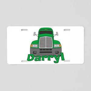 Trucker Darryl Aluminum License Plate