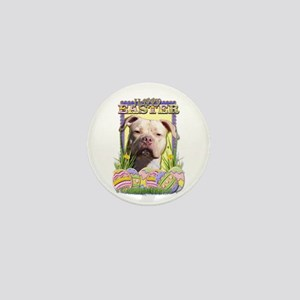 Easter Egg Cookies - Pitbull Mini Button