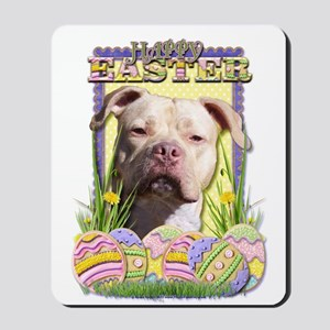 Easter Egg Cookies - Pitbull Mousepad