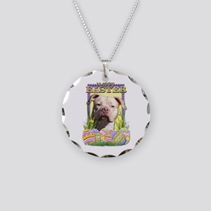 Easter Egg Cookies - Pitbull Necklace Circle Charm