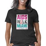 AIDS Walk Miami White Women's Classic T-Shirt