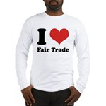 I Heart Fair Trade Long Sleeve T-Shirt