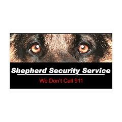 Shepherd Security Service 38.5 x 24.5 Wall Peel