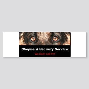 Shepherd Security Service Sticker (Bumper)