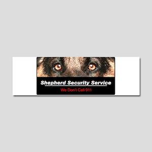 Shepherd Security Service Car Magnet 10 x 3