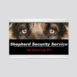 Shepherd Security Service Rectangle Magnet