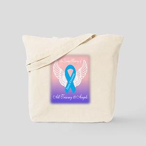 Trisomy 18 angels Tote Bag