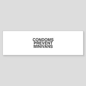 MINIVANS Bumper Sticker