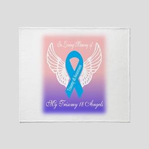 my angels Throw Blanket