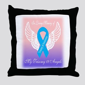 my angels Throw Pillow