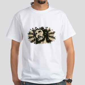 COOL RETRO VINTAGE JESUS White T-Shirt