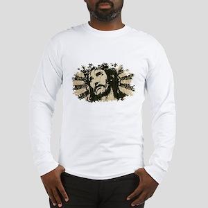 COOL RETRO VINTAGE JESUS Long Sleeve T-Shirt