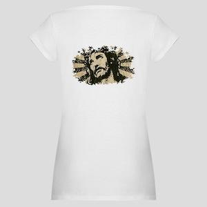 COOL RETRO VINTAGE JESUS Maternity T-Shirt