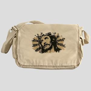 COOL RETRO VINTAGE JESUS Messenger Bag