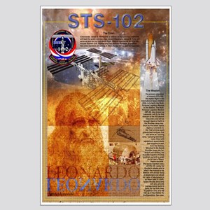 STS 102 Mission Poster Large Poster